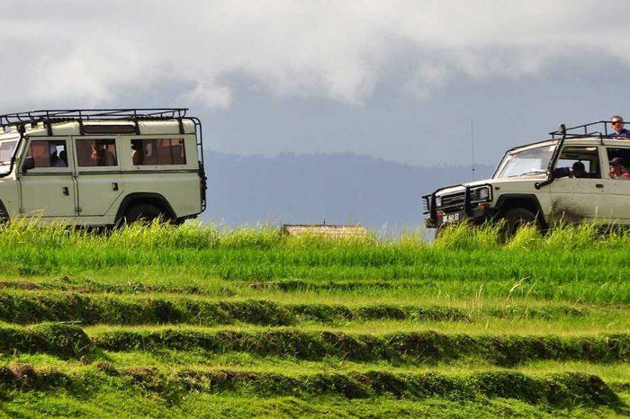 Balade en 4×4 jeep de la montagne vers la mer